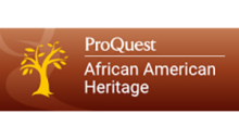 ProQuest African American Heritage logo