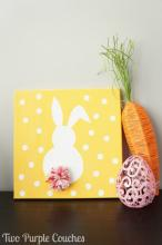 Bunny Canvas Painting